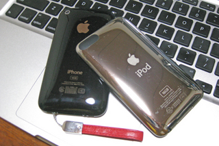 iPhoneとiPod touch(とMacBook Pro)